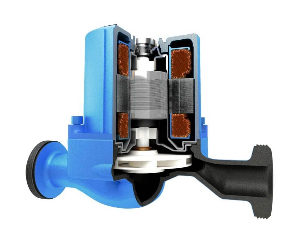 фото устройство циркуляционного насоса отопления